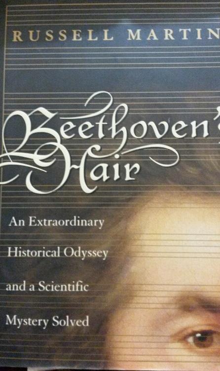 Beethoven hair book