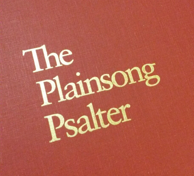 plainsong psalter