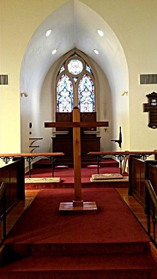 Epiphany bare altar