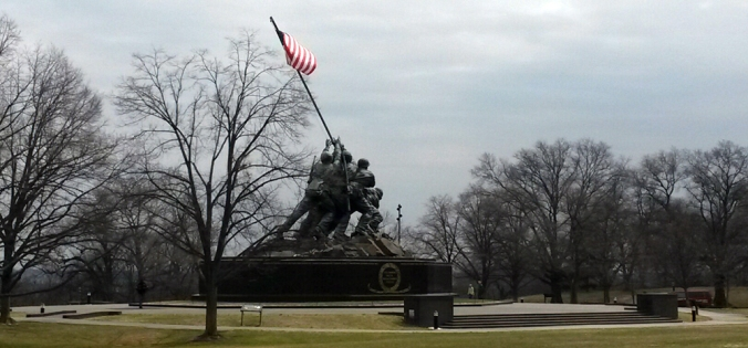 Marine Corps monument