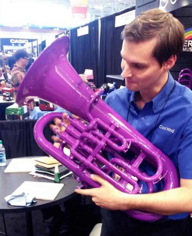 purple tuba