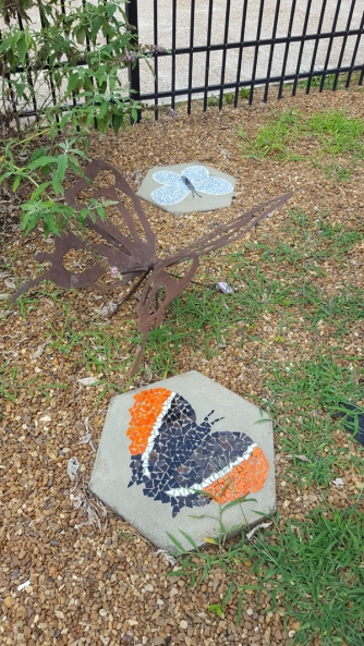 Whitwell butterfly mosaic